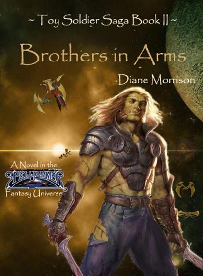 """Brothers in Arms"" Book Cover"